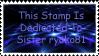 Sister Stamp by Kirin-Rosenbaum