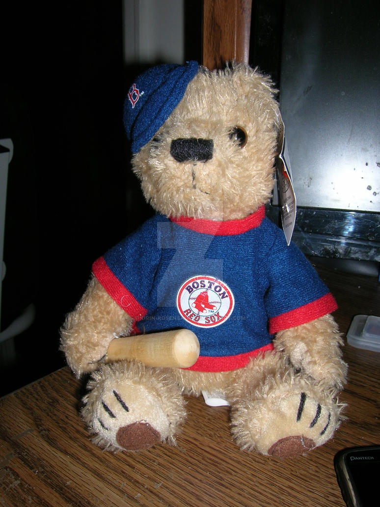 Red Sox Teddy by Kirin-Rosenbaum