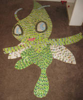 Celebi (Pokemon Card Collage) by PlusleThePokemon04