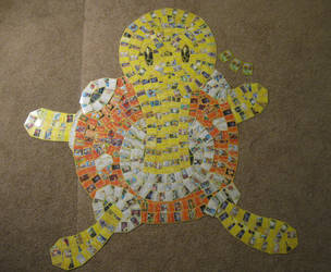 Shuckle (Pokemon Card Collage) by PlusleThePokemon04