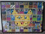 Pikachu 25th Anniversary (Pokemon Card Collage) by PlusleThePokemon04