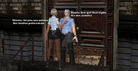 Traitor Dante The  Policeman part 1