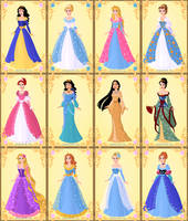 Disney Queens by Shiroux9254