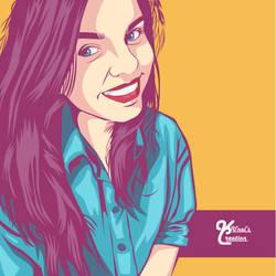 Vector Portrait by Kunalnath