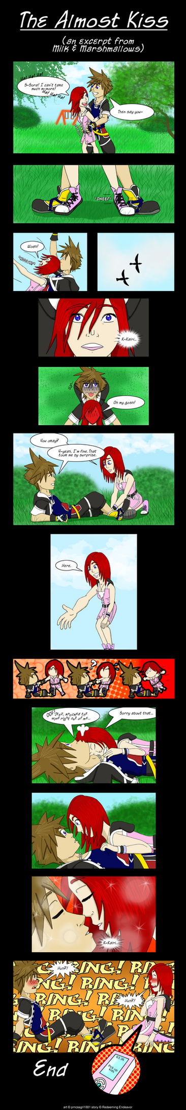 KH- The Almost Kiss by prncssgrl1881