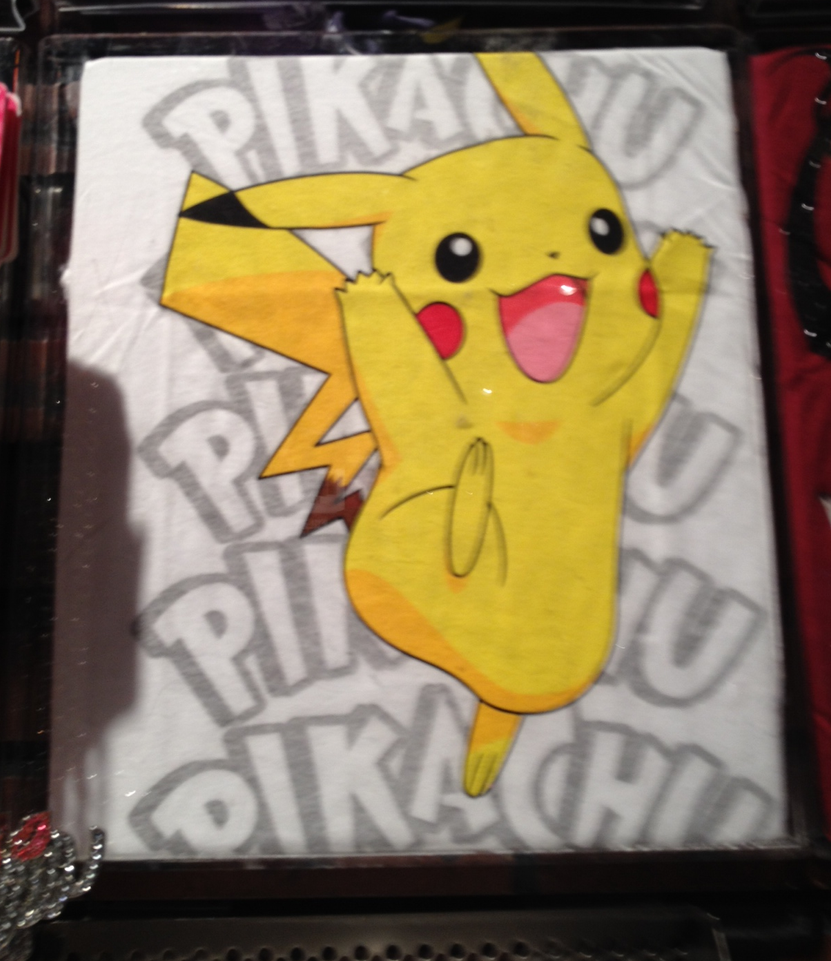 Pikachu shirt by PartyRockingPikachu