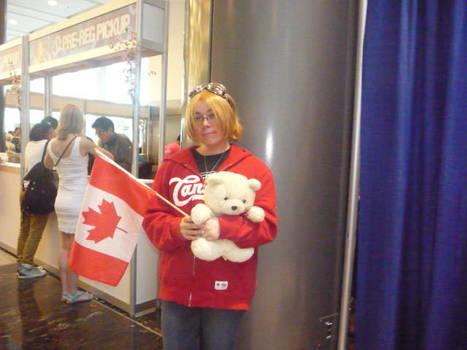 It's Canada!