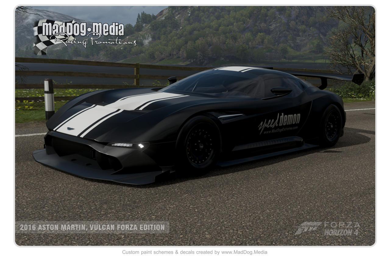 2016 Aston Martin Vulcan Forza Edition By Deviantart Dog On Deviantart