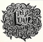 LetLoveInCalligraphy