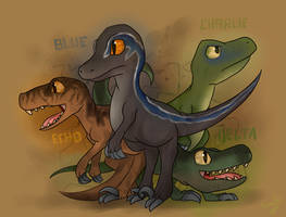 -The Raptor Squad- by Kaifeii