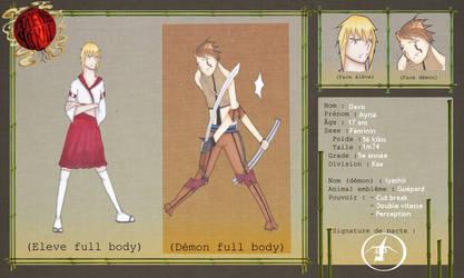 Academie Yokai - Alpha et Iyashii by RoseOmega
