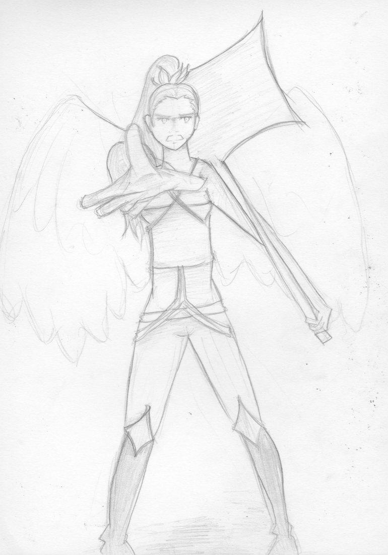 Free sketches : Izo by RoseOmega