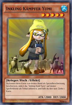 Yu-Gi-Oh IF: Inkling Kaempfer Yumi