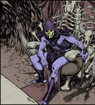 Skeletor - flat color