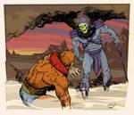 Skeletor cows Beastman - color