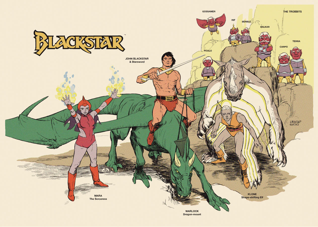 Blackstar Heroes By Laemeur On Deviantart