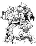 Optimus Prime and He-Man