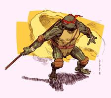 TMNT Donatello B5L colour