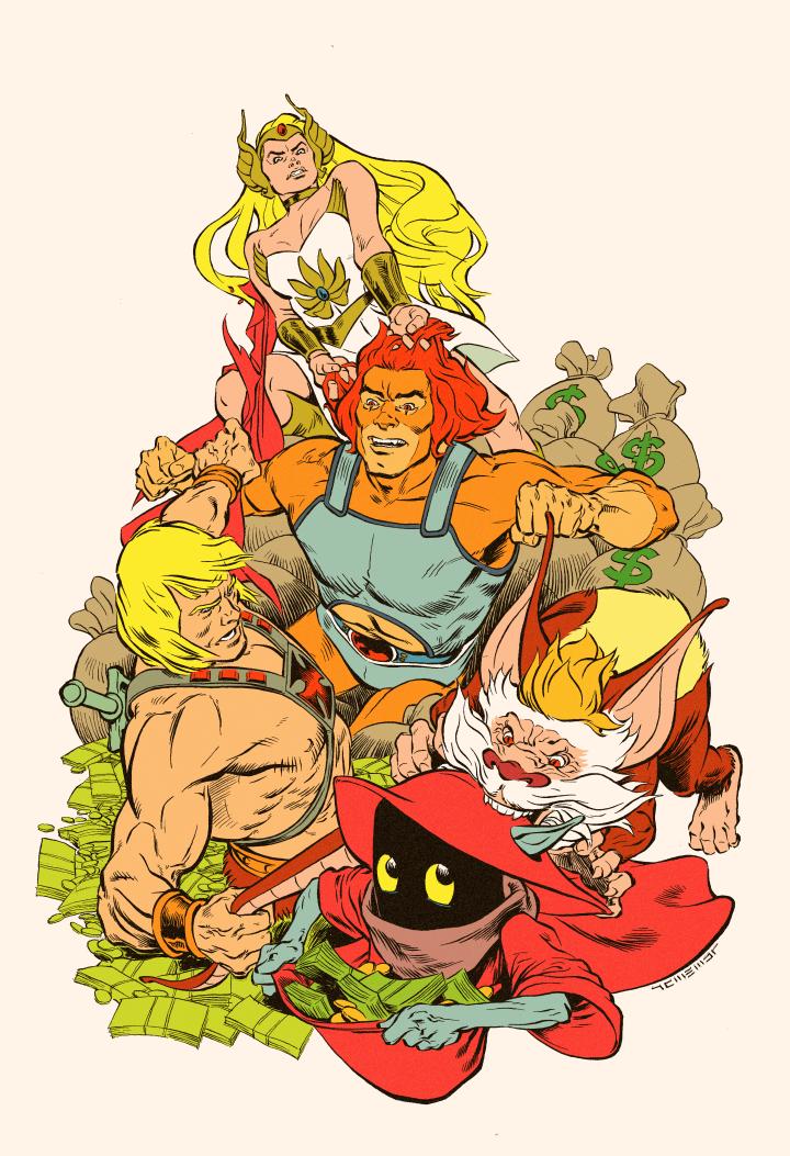 Thunder Power Rumble by Laemeur