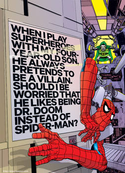Spidey for WIRED