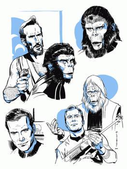 Trek/Apes samples