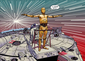 I'm Flying, Artoo! by Laemeur