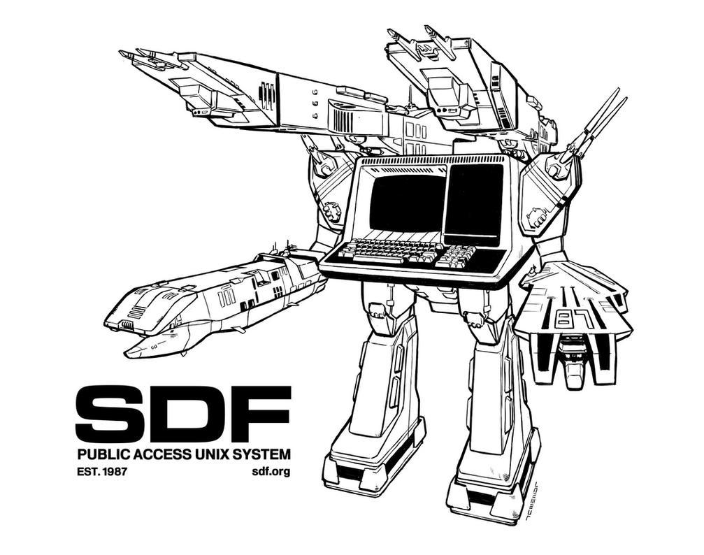 SDF MechTerm by Laemeur