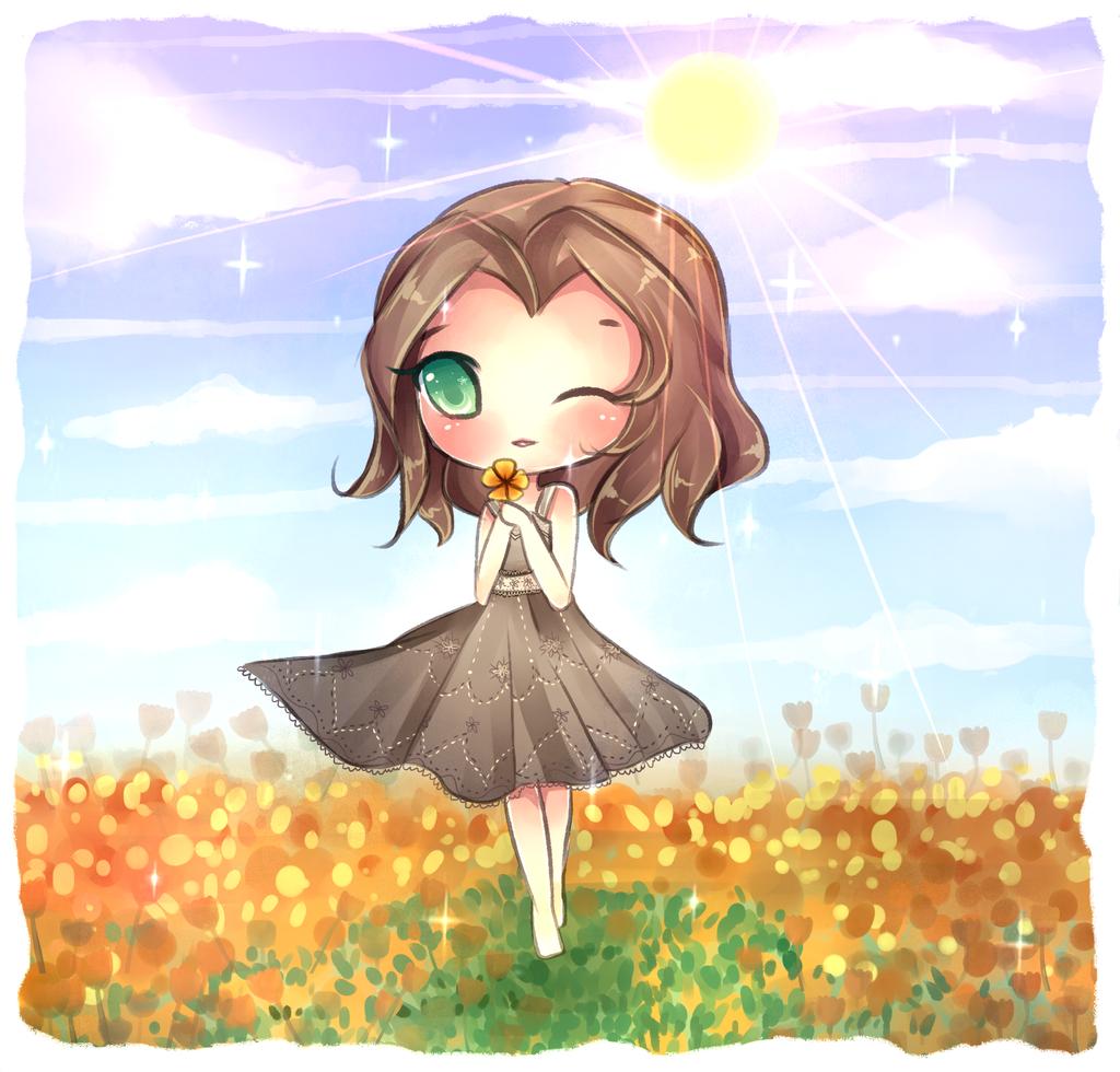 Golden Field by mochatchi