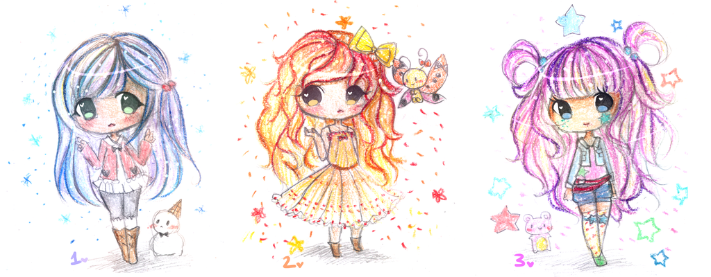 Point Adoptables 7 (SOLD) by mochatchi
