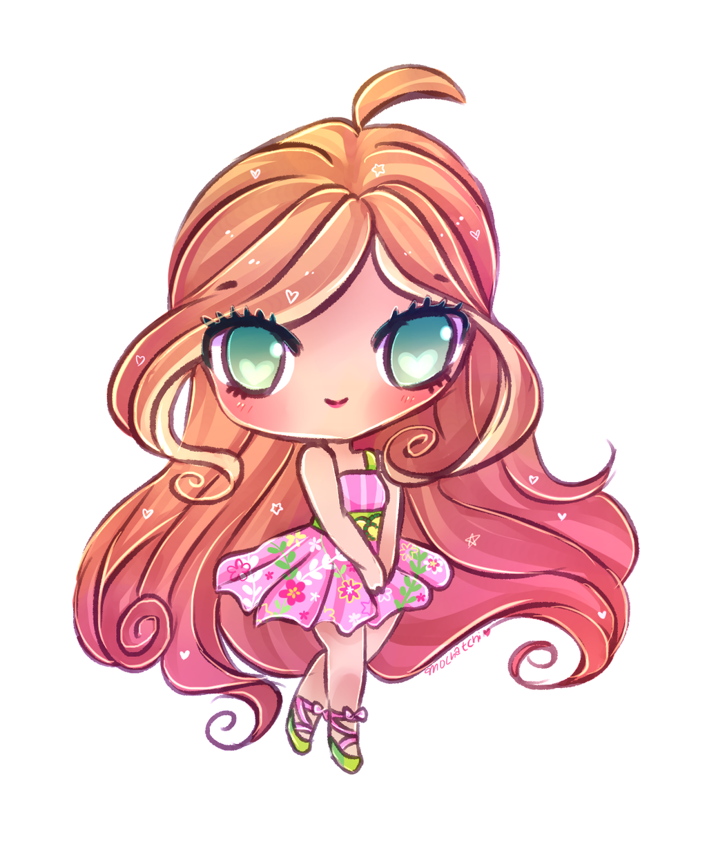 Winx club flora by mochatchi on deviantart - Bloom dessin anime ...