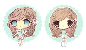 Flower Chibi Adopt+EXTRA (SOLD)