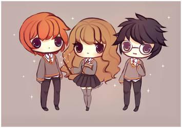Harry Potter by mochatchi