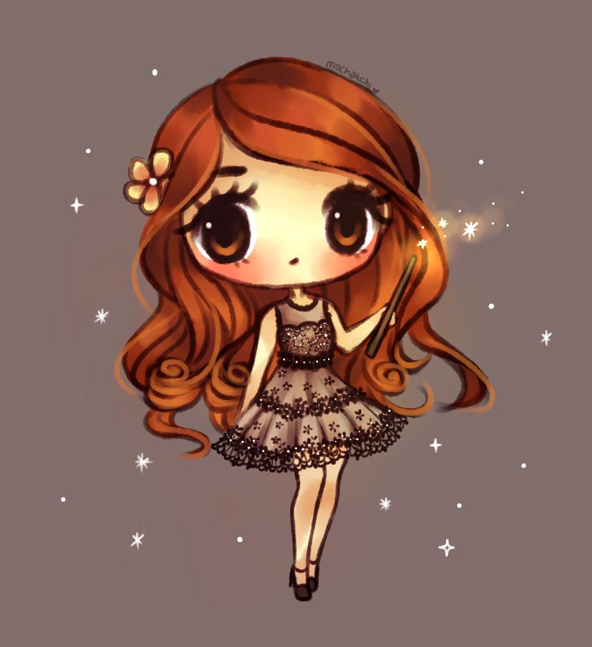 Ginny Weasley by mochatchi on DeviantArt
