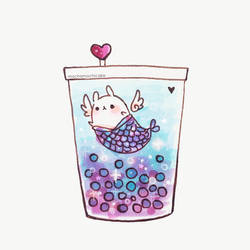 Butterfly Pea Boba