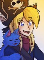 Epic Battle Fantasy - Matt and NoLegs by STS-PiaEsaya