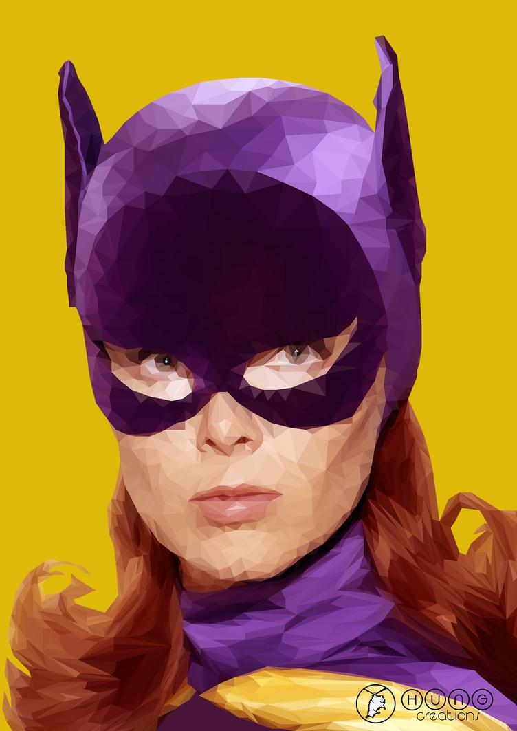 Yvonne Craig Batgirl by Hungcreations
