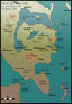 Map of China Mieville's Bas-Lag