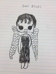Weeping angel by Catriona456