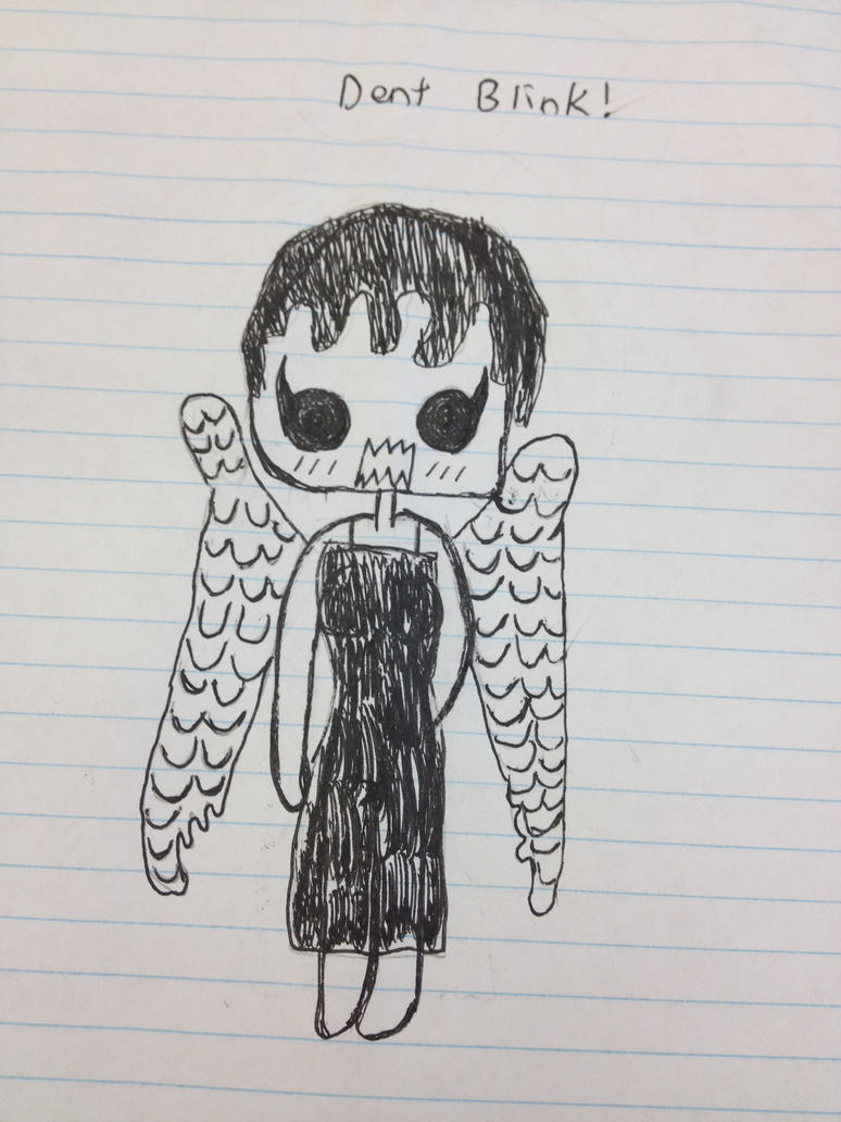 Weeping angel by Catriona456 on DeviantArt