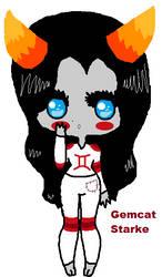 Gemcat Starke by Catriona456