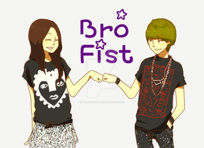 Bro Fist Girl Ver. by BaekXiaoXing