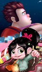 When Can I See You Again? - Wreck-It-Ralph Fanart