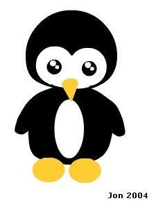 Chibi Penguin Tattoo by darkbear