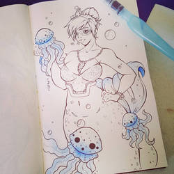 mermay #5 - Mei by Shlickcunny