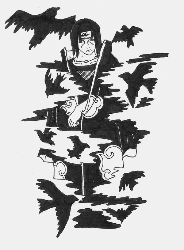 itachi crows wallpaperItachi Crows Wallpaper