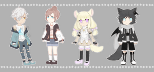 collab auction! (2 + 3 open)