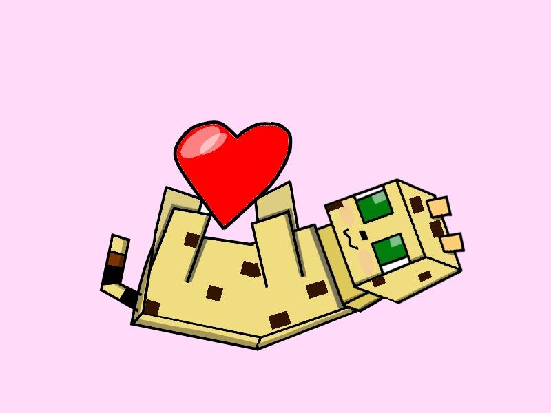 cute minecraft animals drawings
