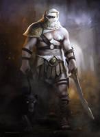 Oriental Warrior by gerezon