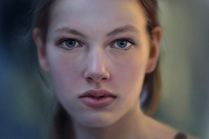 Portrait study by gerezon