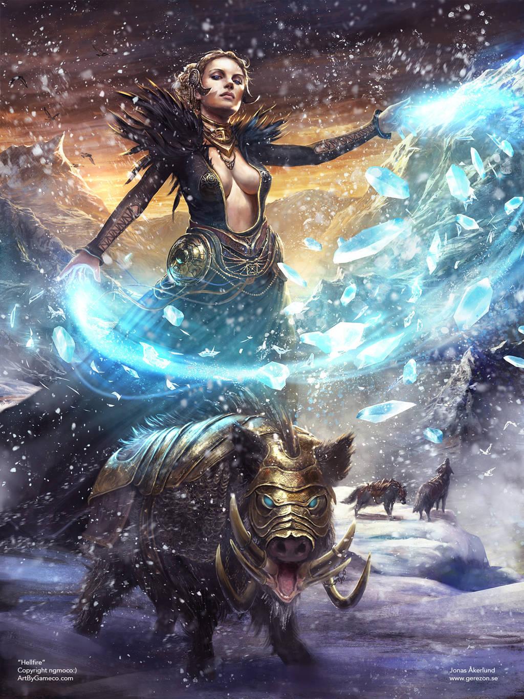 Freya by gerezon